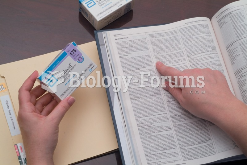 The medical assistant reviews the PDR for information related to a drug.