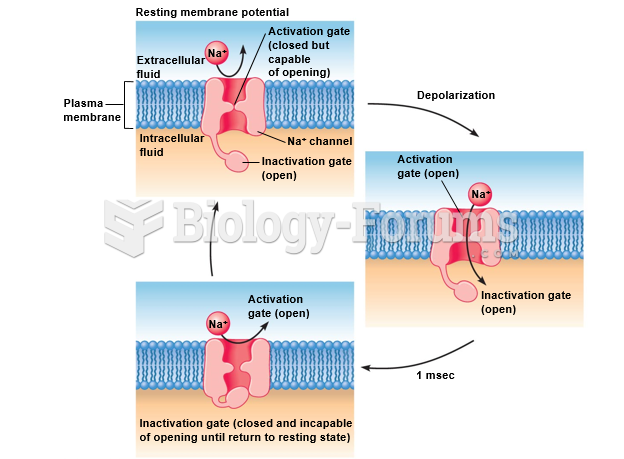 A model for the operation of voltage-gated sodium channels.