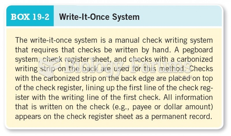 Write-It-Once System