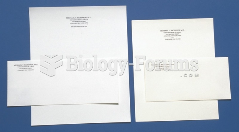Letterhead stationery sizes are varied to suit the needs of the sender. Envelopes are sized to match ...