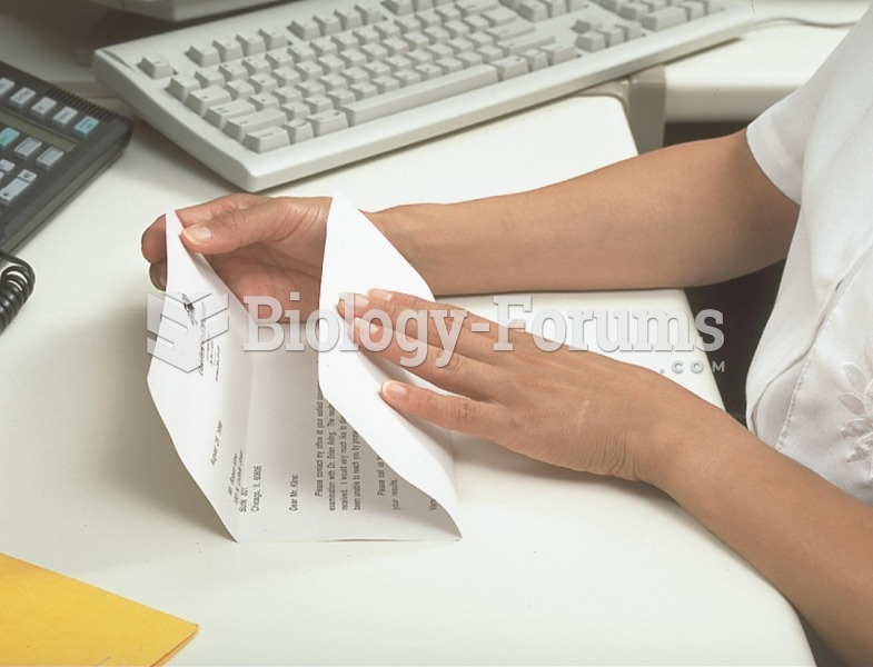 A well-folded letter fits easily into the envelope and is easily removed by the person who receives ...
