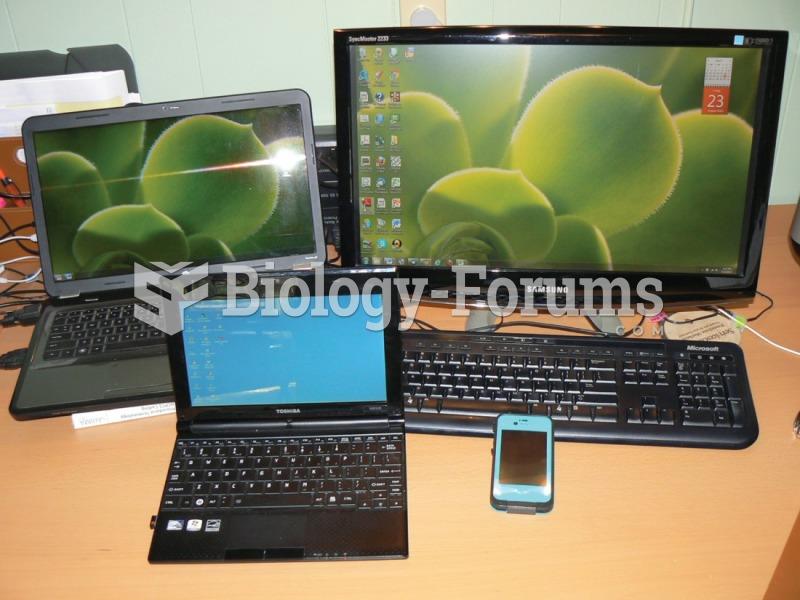 Types of computers (A) Laptop (B) Notebook (C) Desktop (D) Smartphone.