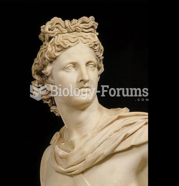 Apollo Belvedere (detail), Roman copy after a 4th-century BCE Greek original.