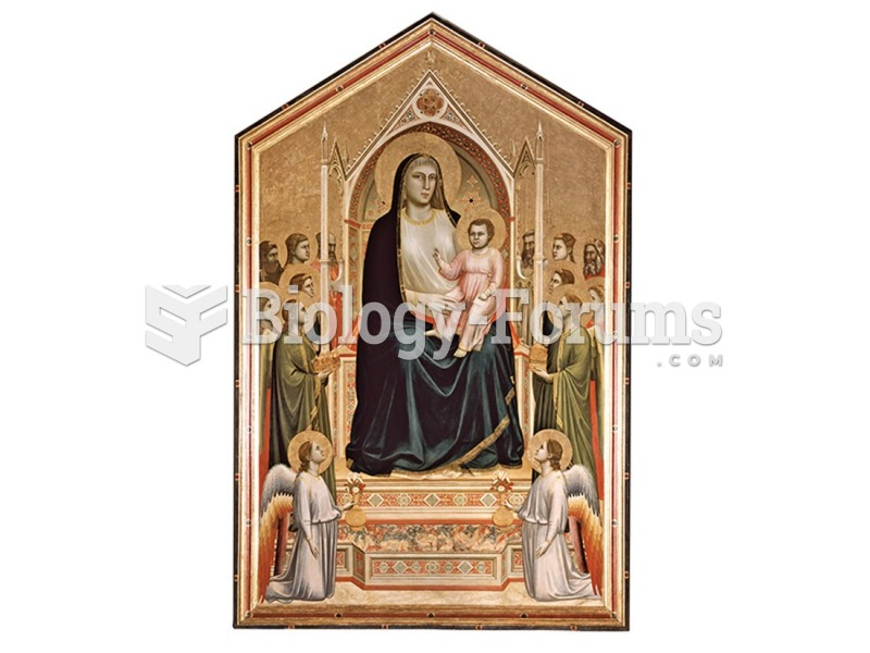 Giotto, Madonna and Child Enthroned.