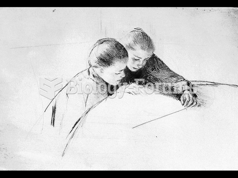 Mary Cassatt, The Map (The Lesson).
