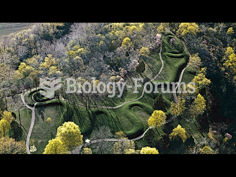 Great Serpent Mound, Adams County, Ohio, Hopewell culture.