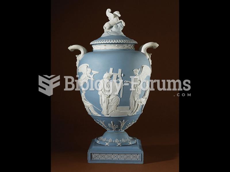 Josiah Wedgwood, Pegasus Vase.
