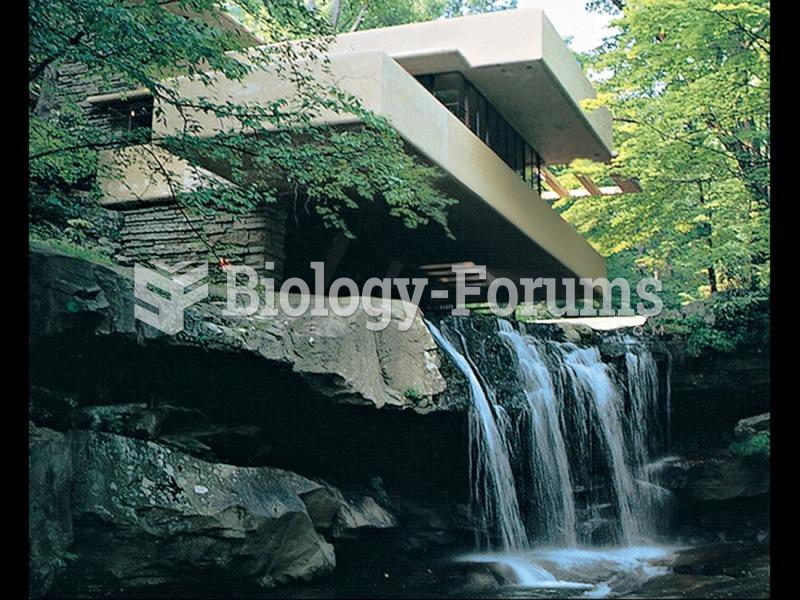 Frank Lloyd Wright, Fallingwater, Kaufmann House, Bear Run, Pennsylvania.