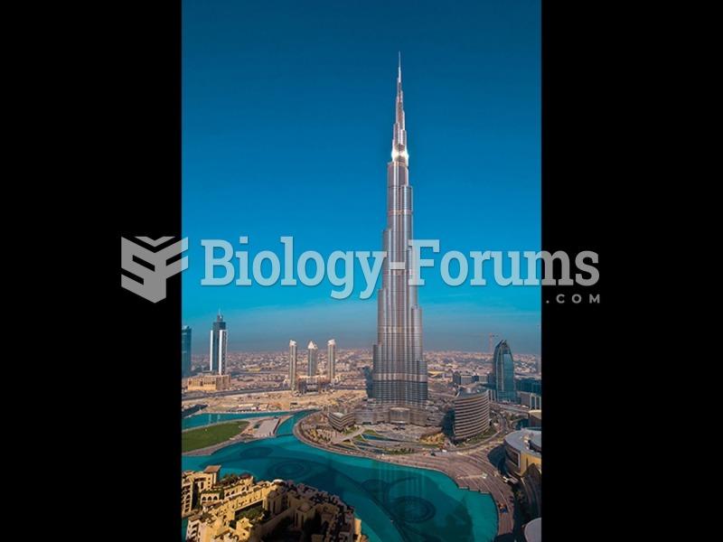 Adrian Smith, Skidmore, Owings & Merrill, Burj Khalifa, Dubai, United Arab Emirates.
