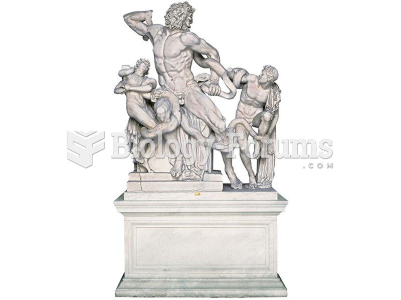The Laocoön Group, Roman copy, perhaps after Agesander, Athenodorus, and Polydorus of Rhodes.