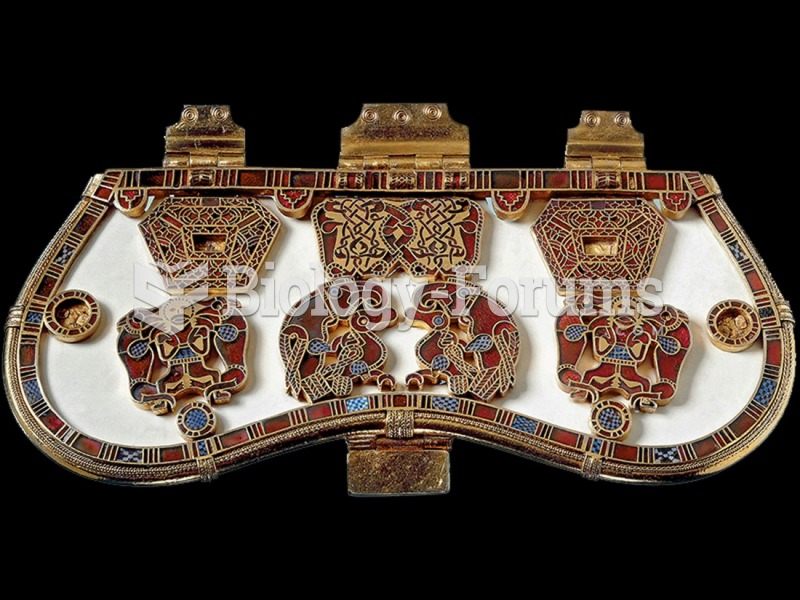 Purse cover, from the Sutton Hoo burial ship.