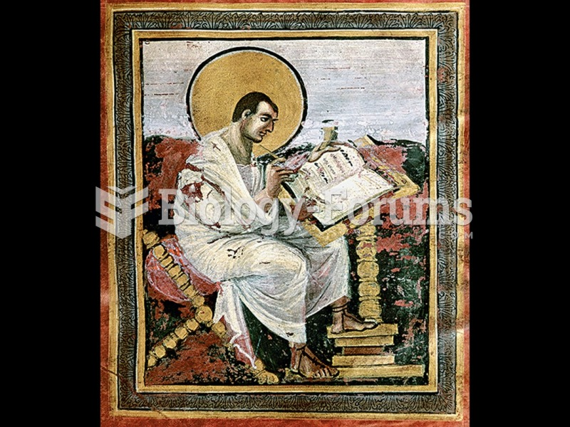 St. Matthew, from the Gospel Book of Charlemagne.