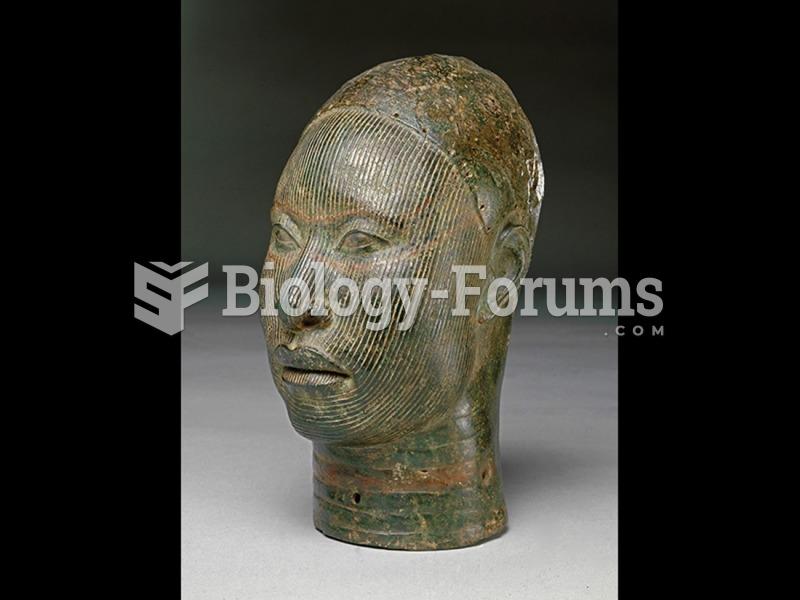 Head of a King (Oni), Ife culture, Nigeria.