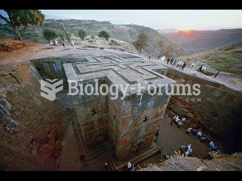 Beta Ghiorghis (House of St. George), Lalibela, Ethiopia.
