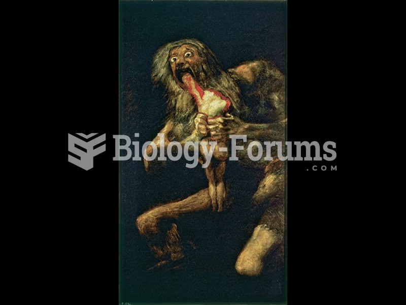 Francisco Goya, Saturn Devouring One of His Sons.