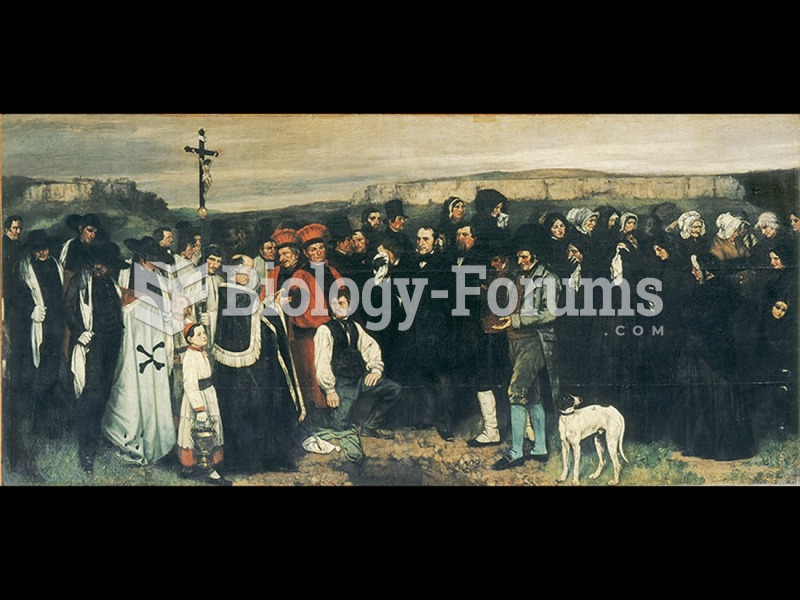 Gustave Courbet, Burial at Ornans.