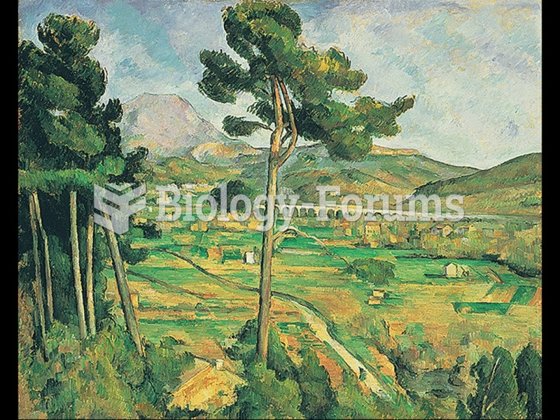 Paul Cézanne, Mont Sainte-Victoire and the Viaduct of the Arc River Valley.
