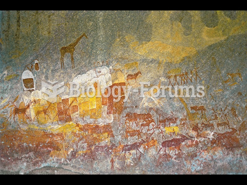Wall painting with giraffes, zebra, eland, and abstract shapes, San people, Inanke Cave, Matobo ...