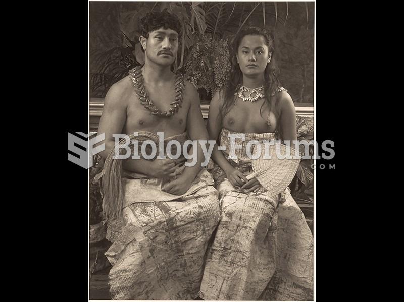 Shigeyuki Kihara, Ulugali'i Samoa: Samoan Couple.