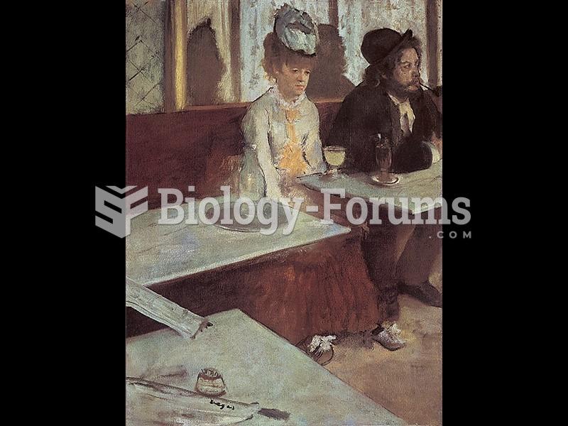Edgar Degas, The Glass of Absinthe.