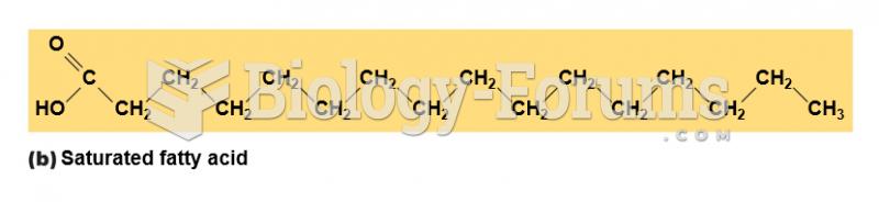 Saturated fatty acid
