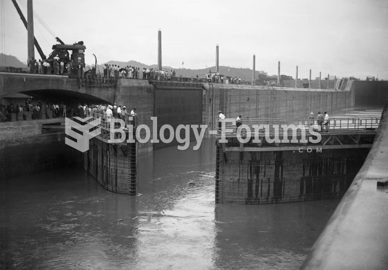 The grand opening of the huge Miraflores lock on the Panama Canal in October, 1914. The locks were b