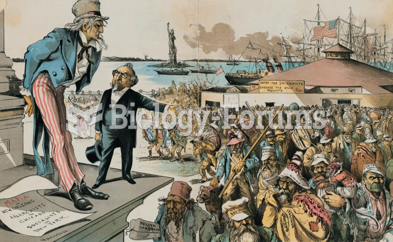 An 1891 cartoon blames immigrants for the ills of American society: anarchy, socialism, mayhem, and