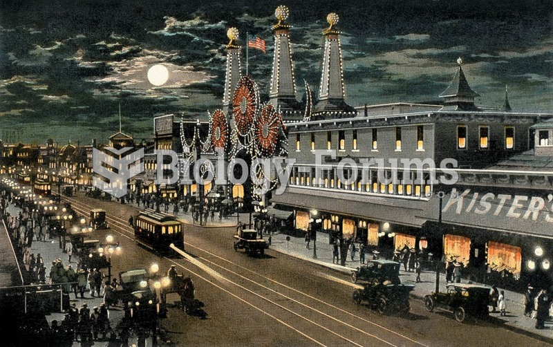 Luna Park at Coney Island was a vast living theater in which strollers were both spectators and acto