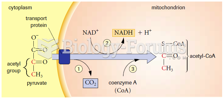 Pyruvate oxidation results in three changes to pyruvate: