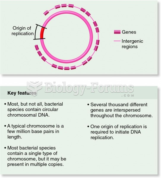 The organization of nucleotide sequences in bacterial chromosomal DNA.