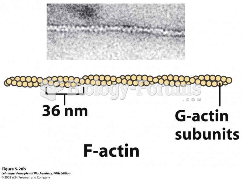 F-actin is a filamentous assemblage of G-actin monomers that polymerize