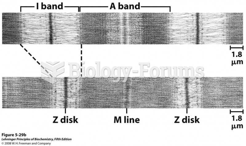 The fibers are made up of many myofibrils