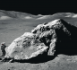 An Apollo Astronaut on the Moon