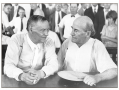 The Scopes Trial: William Jennings Bryan (right) represented the state of Tennessee, and Clarence Da