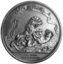 The Seringapatam medal shows a lion defeating a tiger