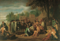 Historian James Merrell notes several errors in Benjamin West's famous 1771 painting, William Penn's