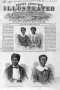 Dred Scott and his wife and children are featured on the cover of Frank Leslie's Illustrated Newspap
