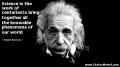 Einstein - Science is the work of...