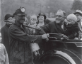 "A miner greets the president. Franklin's ""first-class temperament"" compensated for his ..."