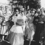 Angry jeers from whites rain down on Elizabeth Eckford, one of the first African American students ...