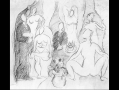 Pablo Picasso, Medical Student, Sailor, and Five Nudes in a Bordello (Compositional study for Les ...