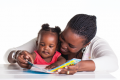 Reading and talking about a picture book is one effective way to improve children's language ...