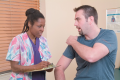 Role-Playing a Situation in Which a Patient Is from Another Culture