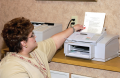 Fax machines are used in many medical offices, although newer technologies including scanners and ...