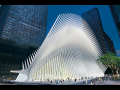 Santiago Calatrava, Port Authority Trans Hudson (PATH) station, World Trade Center site.