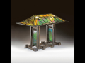 Frank Lloyd Wright, Table lamp, executed for the Linden Glass Co. for the Susan Lawrence Dana ...