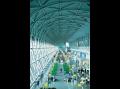 Renzo Piano Building Workshop, International departures lounge, Kansai International Airport, Osaka, ...